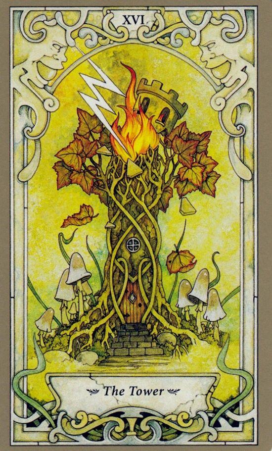 Таро Мистических фей, Башня