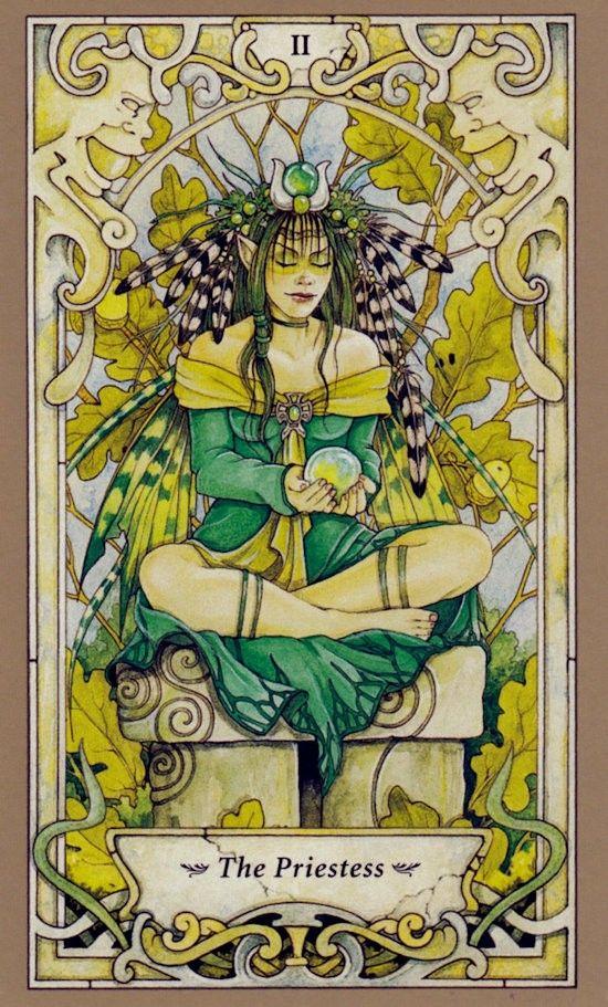 Таро Мистических фей, Верховная жрица