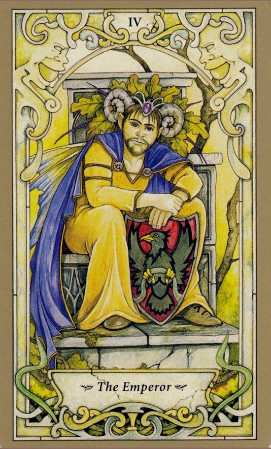 Таро Мистических фей, Император