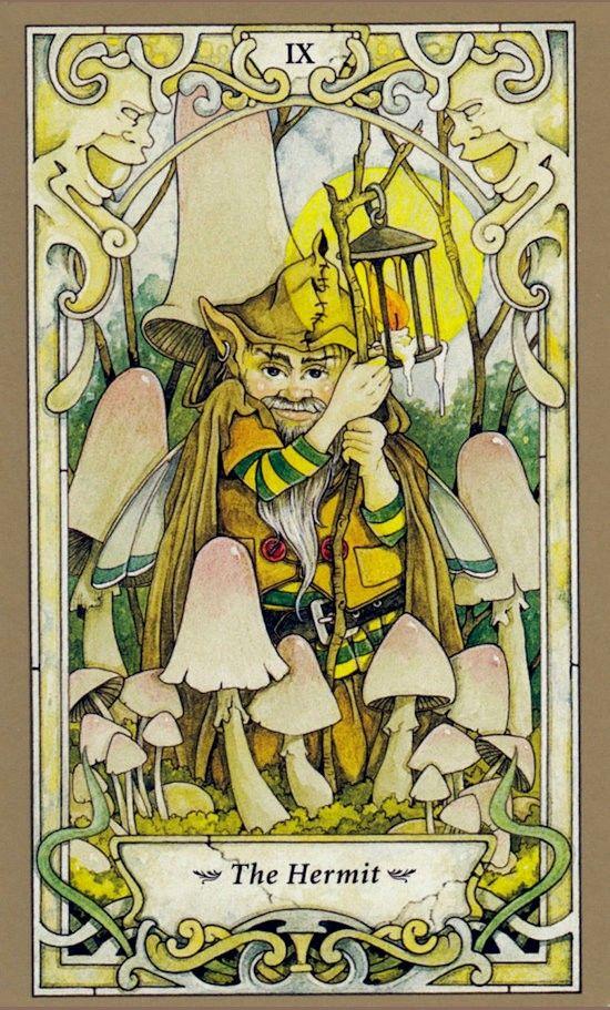 Таро Мистических фей, Отшельник