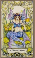 Таро Мистических фей, Королева кубков