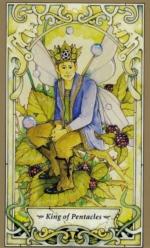 Таро Мистических фей, Король пентаклей