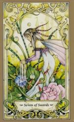 Таро Мистических фей, 7 мечей