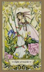 Таро Мистических фей, 8 мечей
