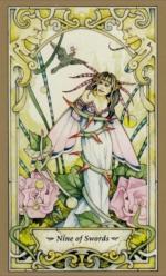 Таро Мистических фей, 9 мечей