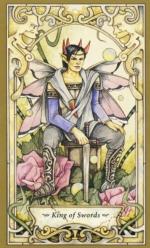 Таро Мистических фей, Король мечей