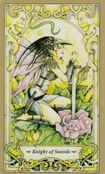 Таро Мистических фей, Рыцарь мечей