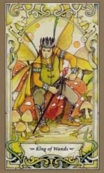 Таро Мистических фей, Король жезлов