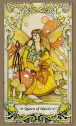 Таро Мистических фей, Королева жезлов