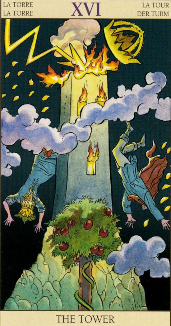 Таро Нового видения_Башня