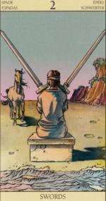 Таро Нового видения_2 мечей