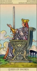 Таро Нового видения_Королева мечей