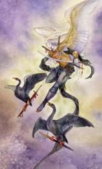 Таро Долина Миражей_5 мечей