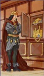 Таро 78 дверей_Король пентаклей