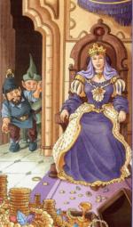 Таро 78 дверей_Королева пентаклей