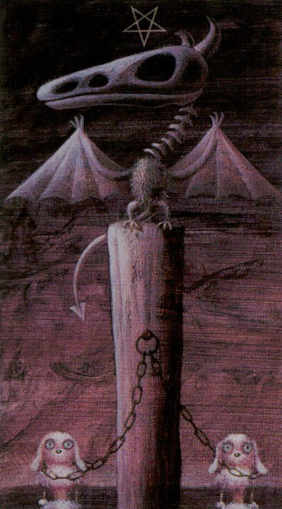 Таро таинственного леса_Дьявол