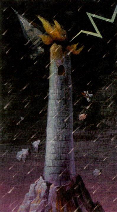Таро таинственного леса_Башня