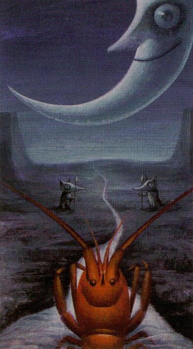 Таро таинственного леса_Луна