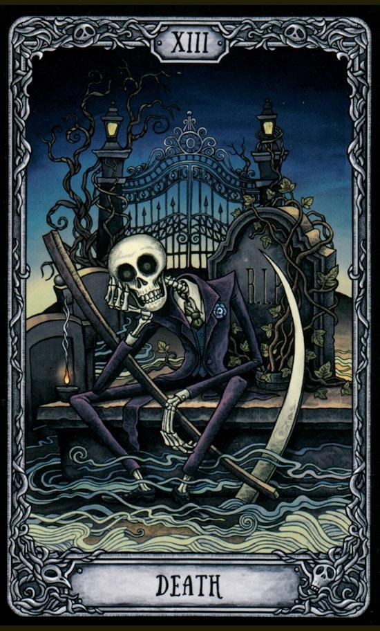 Таро Темный особняк_Смерть
