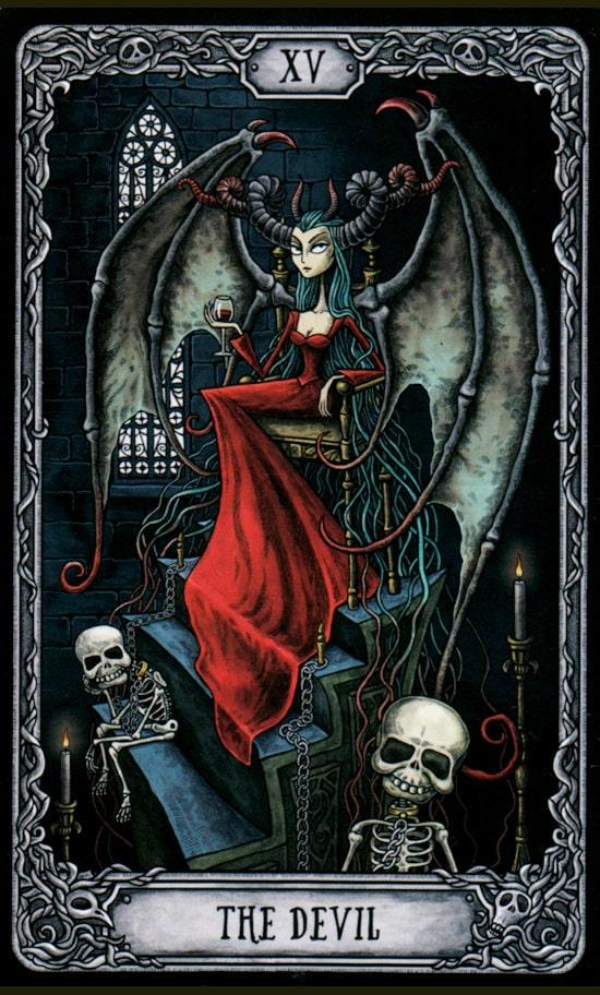 Таро Темный особняк_Дьявол