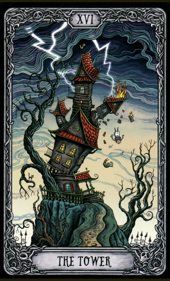 Таро Темный особняк_Башня