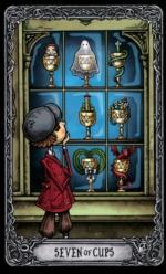 Таро Темный особняк_7 кубков