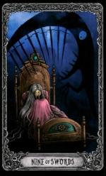 Таро Темный особняк_9 мечей