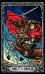 Таро Темный особняк_Рыцарь мечей