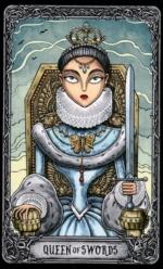 Таро Темный особняк_Королева мечей