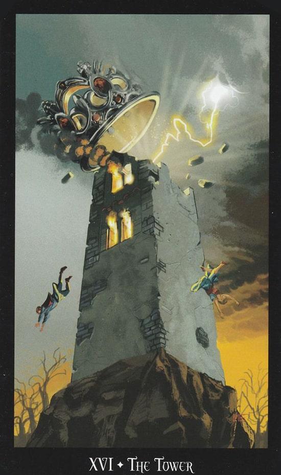 Таро Ведьм, Башня