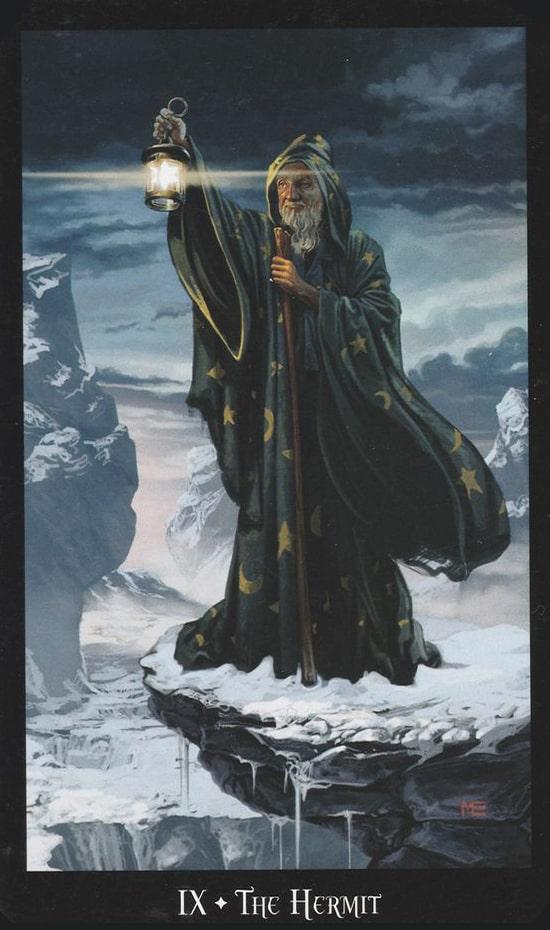 Таро Ведьм, Отшельник