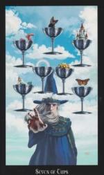 Таро Ведьм, 7 кубков