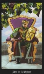 Таро Ведьм, Король пентаклей