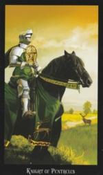 Таро Ведьм, Рыцарь пентаклей