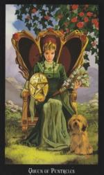 Таро Ведьм, Королева пентаклей