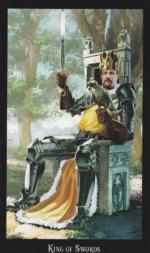 Таро Ведьм, Король мечей