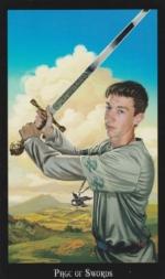 Таро Ведьм, Паж мечей