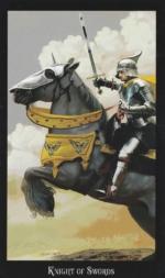 Таро Ведьм, Рыцарь мечей