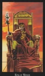 Колода Таро Ведьм, Король жезлов