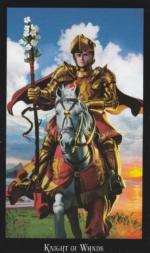 Колода Таро Ведьм, Рыцарь жезлов